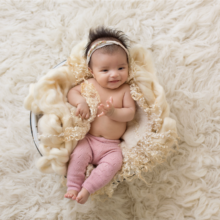 Precious Two Month Old Girl | Scottsdale Baby Photographer