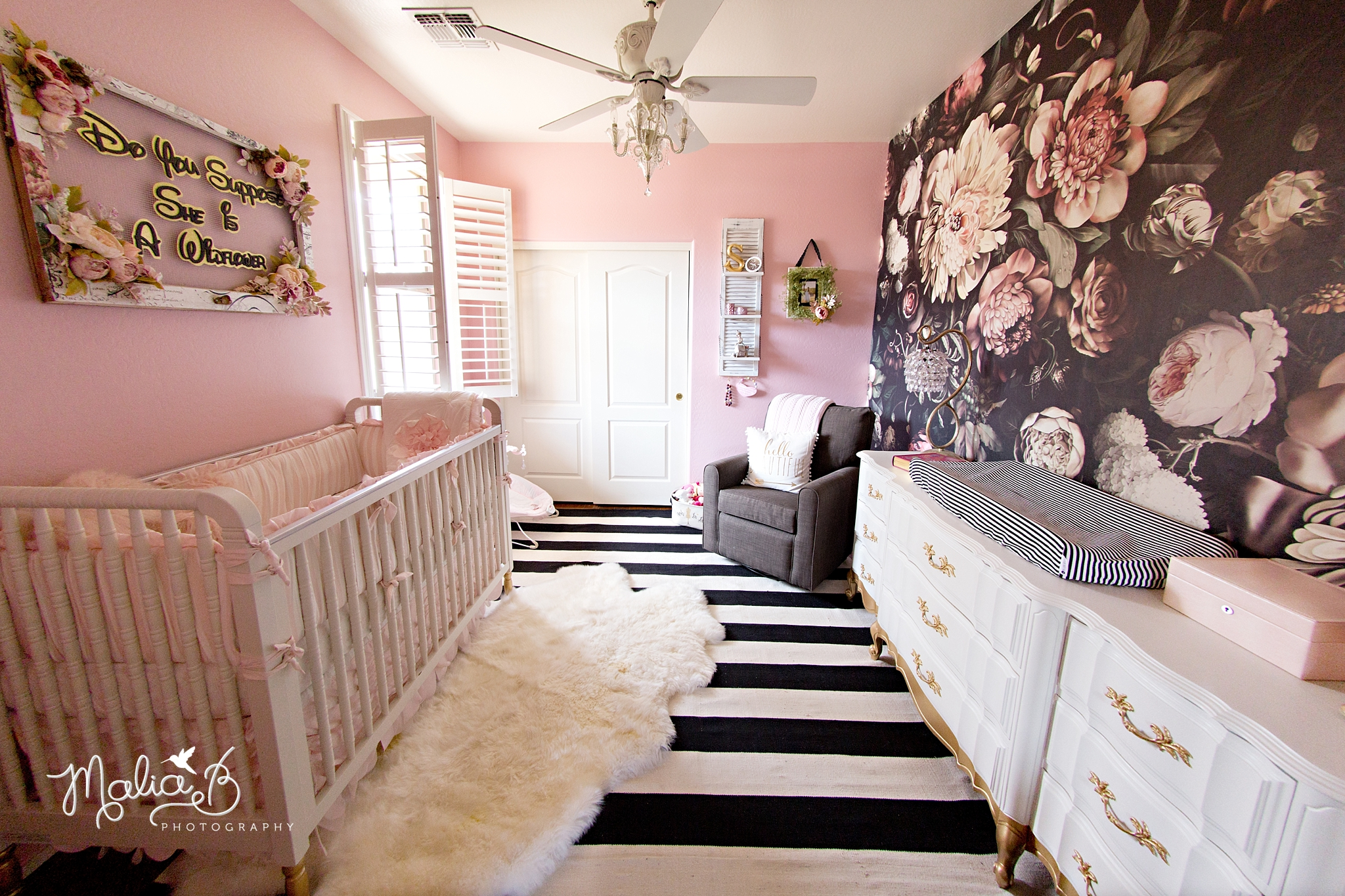 Floral Nursery Decor Inspiration Phoenix Malia B